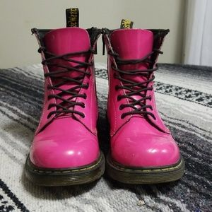 Dr. Martens Youth 1460 Hot Pink Patent